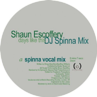 Shaun Escoffery - Days Like This (DJ Spinna Mix) RSD 2018 LIMITED EDITION